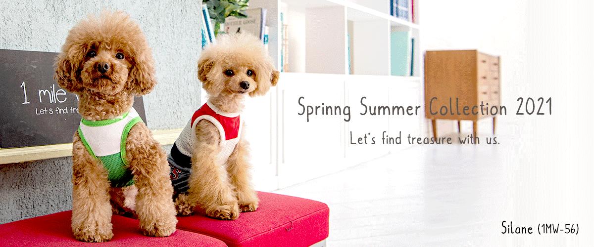 Spring Summer Collection 2021|犬服・ワンマイルウォーキーズ(1 mile walkies)