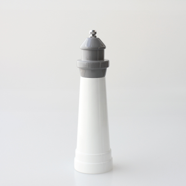 "PUEBCO プエブコ|Lighthouse Shaped Salt & Pepper Mill / 8""Gray"