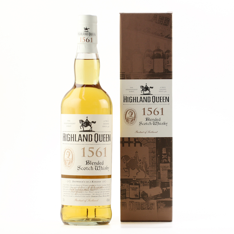 HIGHLAND QUEEN 1561 BLENDED SCOTCH WHISKY