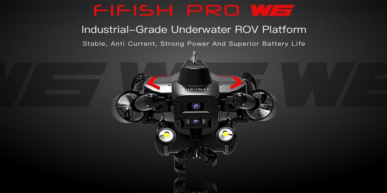 QYSEA FIFISH PRO W6/産業用水中ドローン