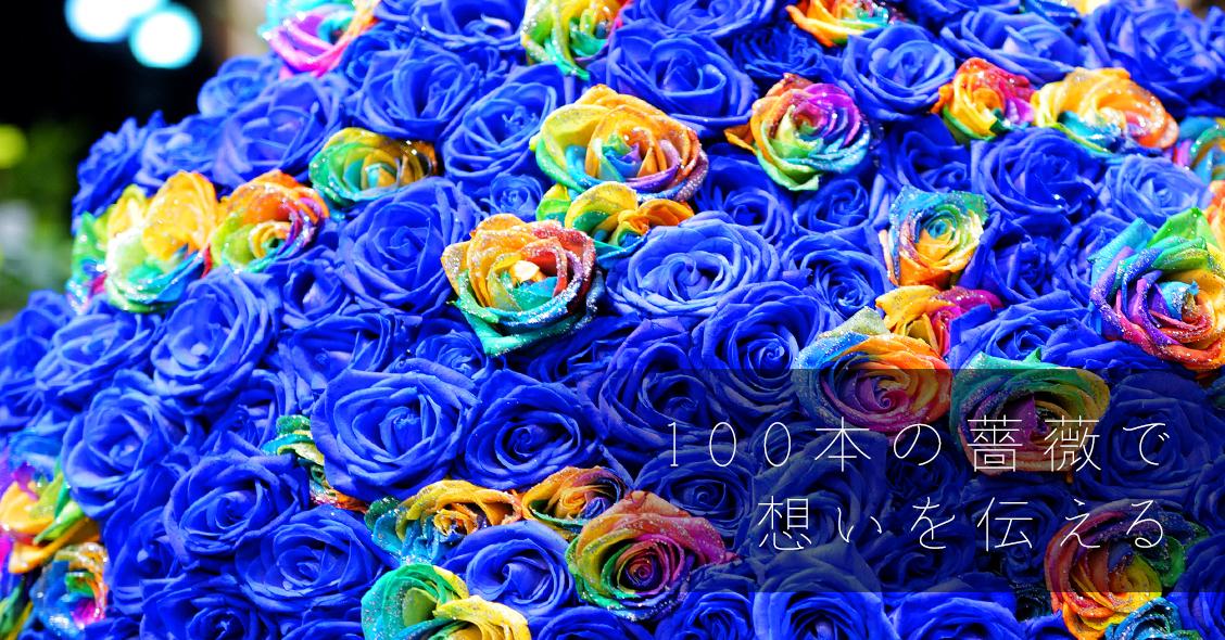 青いバラの花言葉は「可能性」