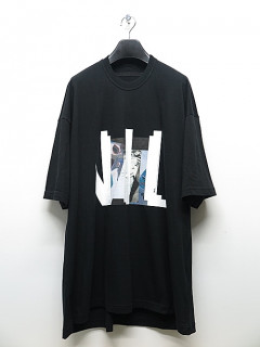 NIL/S・ニルズ/COTTON JERSEY CUT & SEWN/BLK