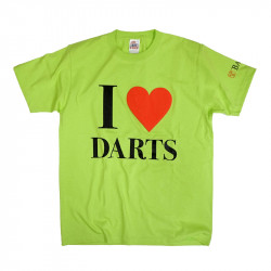 BASARA 【バサラ】 I LOVE DARTS 6.2oz ライム L (I LOVE DARTS Lime L)
